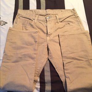 Beige jean by American Eagle size 34